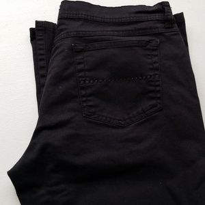 GLO BLACK FLARE JEANS Junior Size 11